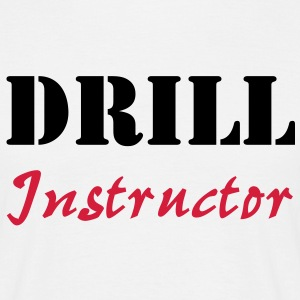 Drill Instructor T-shirts - Herre-T-shirt