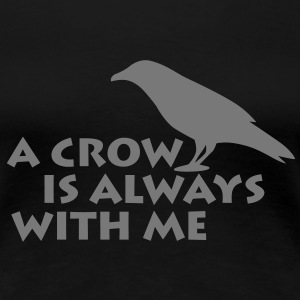 A CROW | Frauen Shirt 3XL - Frauen Premium T-Shirt