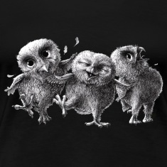 crazy happy owls