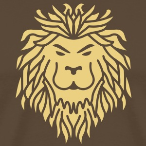 Lion - Tribal T-Shirts - Men's Premium T-Shirt