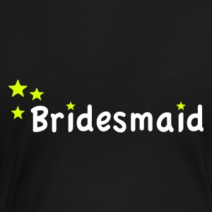 Star Bridesmaid T-Shirts - Women's Premium T-Shirt