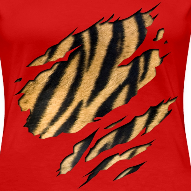 Tiger Shirt RobijnRed