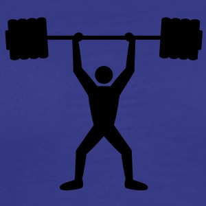weightlifting T-shirts - Herre premium T-shirt