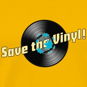 Männer-T-Shirt Save the Vinyl! - Männer Premium T-Shirt