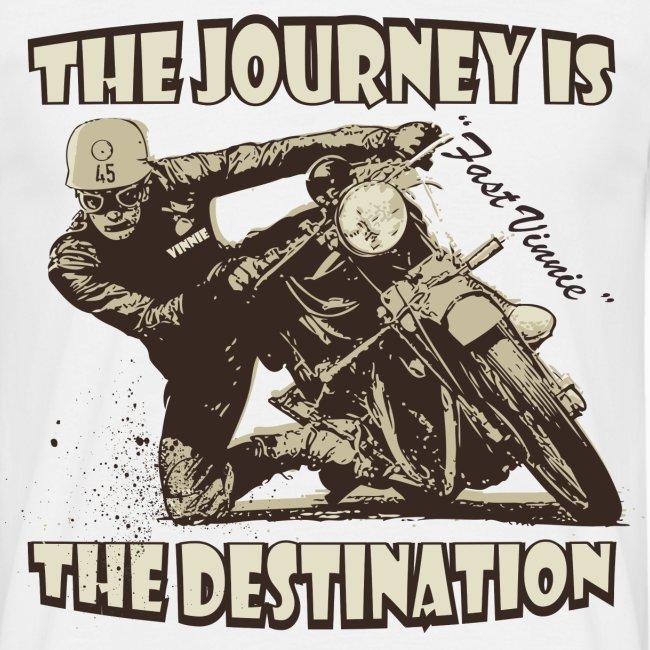 The Journey biker t-shirt