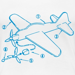 Flying Gliders Construction Instructions T-Shirts - Women's Premium T-Shirt
