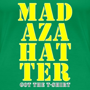 mad hatter yellow got shirt T-Shirts - Women's Premium T-Shirt