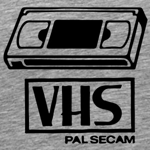 VHS Video Casette T-Shirts - Men's Premium T-Shirt