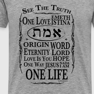 Truth - Wahrheit T-Shirts - Men's Premium T-Shirt
