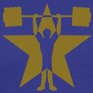 weightlifting_star T-shirts - Mannen Premium T-shirt