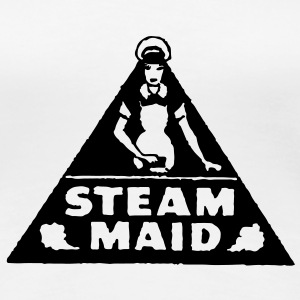 1960's Steam Maid T-Shirts - Women's Premium T-Shirt