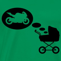 Stroller dream motorcycle  T-Shirts