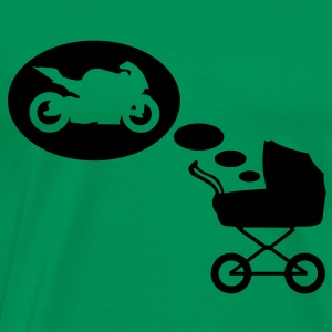 Stroller dream motorcycle  T-Shirts - Men's Premium T-Shirt