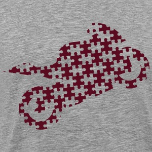 Puzzle bike motorcycle  T-Shirts - Men's Premium T-Shirt