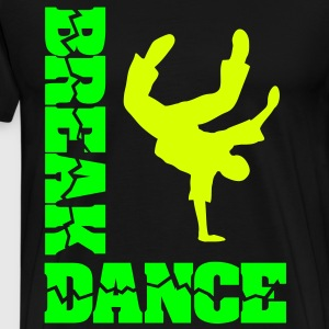 Breakdance Tänzer B-Boying B-Girl Battle  T-Shirt - Männer Premium T-Shirt