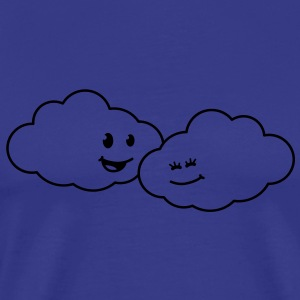 love_clouds T-shirts - Premium-T-shirt herr