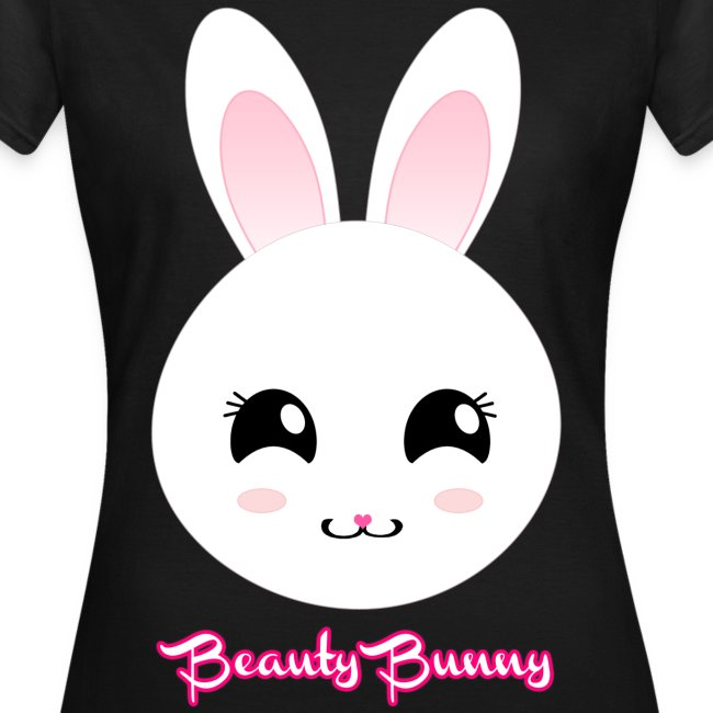 Beauty Bunny Hase T-Shirt Girlie