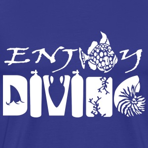 Enjoy Diving Tee shirts - T-shirt Premium Homme