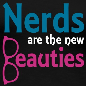 Beauty Nerds | Frauen 3XL - Frauen Premium T-Shirt