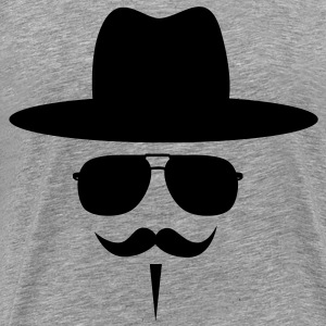 Moustache T-Shirts - Men's Premium T-Shirt