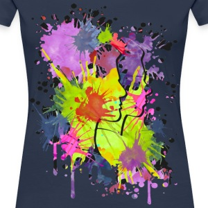 Splatter Heads | Frauen 3XL - Frauen Premium T-Shirt