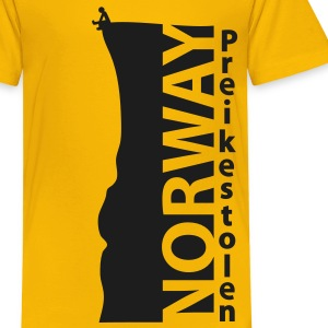 norway_preikestolen_basic_2c Shirts - Kids' Premium T-Shirt