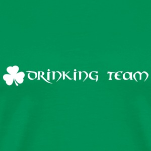 st patricks day drinking team T-Shirts - Männer Premium T-Shirt