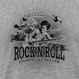 Rock'n'Roll - Sounds Like Heaven (black) - Männer Premium T-Shirt