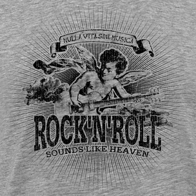 Rock'n'Roll - Sounds Like Heaven (black)
