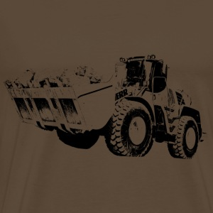 wheeled loader - Men's Premium T-Shirt