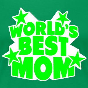 World's best Mom T-skjorter - Premium T-skjorte for kvinner