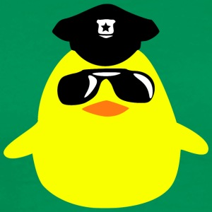 cool_cop_chick T-shirts - Herre premium T-shirt