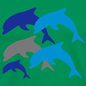 Dolphins with Baby T-Shirts - Männer Premium T-Shirt