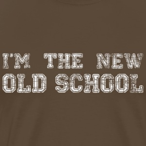 I'm the new old school - white - DIGITAL T-Shirts - Männer Premium T-Shirt
