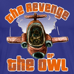 the revenge of the owl T-Shirts - Männer Premium T-Shirt