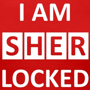 I AM SHERLOCKED  T-Shirts - Frauen Premium T-Shirt