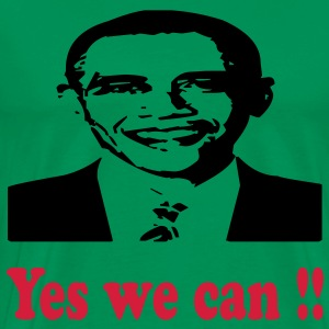 yes_we_can T-Shirts - Men's Premium T-Shirt