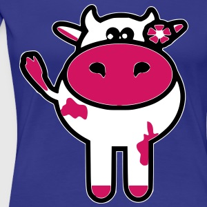 kuh_cow T-Shirts cool kuhl - Frauen Premium T-Shirt