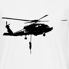 Helicopter action T-Shirts