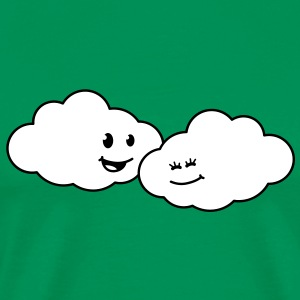 love_clouds T-skjorter - Premium T-skjorte for menn