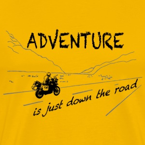 ADV is just down the road - Shirt UNISEX - Männer Premium T-Shirt
