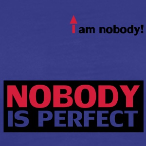 nobody_is_perfect T-skjorter - Premium T-skjorte for menn