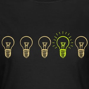 Evolution lamp  T-shirts - Vrouwen T-shirt