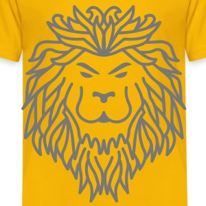 Lion - Tribal Shirts - Kids' Premium T-Shirt