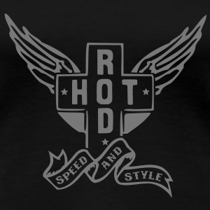 Hot Rod - speed and style T-shirts - Dame premium T-shirt