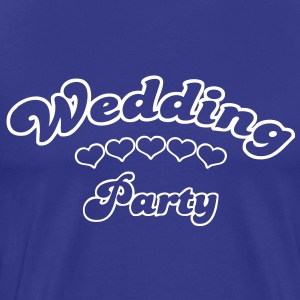 wedding party  Tee shirts - T-shirt Premium Homme