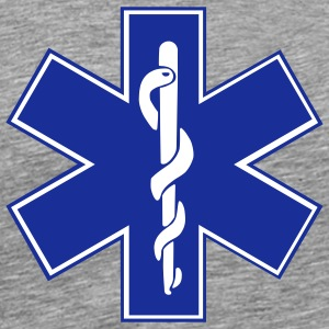 Star of Life / EMT Symbol T-Shirts - Men's Premium T-Shirt