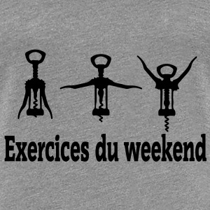 exercices weekend Tee shirts - T-shirt Premium Femme