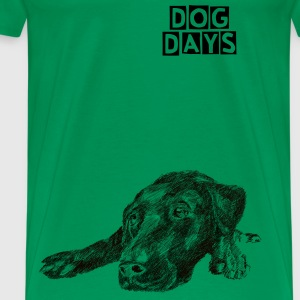 dog days - Premium-T-shirt herr