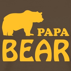 papa bear daddy dad T-Shirts